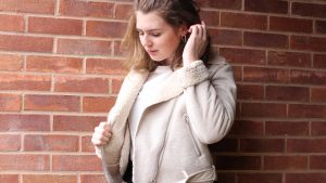 Jessica Cantell Wearing Primark Jacket