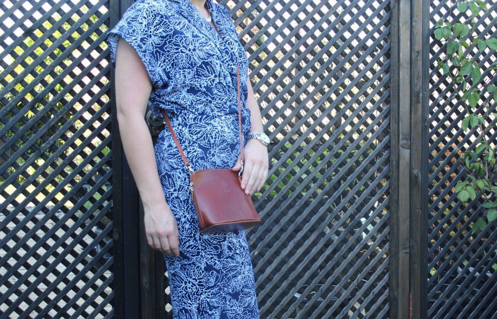 Vera Pelle crossbody handbag Jessica cantell