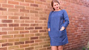 Jessica Cantell - Lighthouse Washed Denim Dress