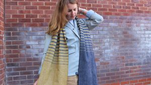 Lighthouse - Jessica Cantell Merino Wool Scarf